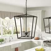 Gracie Oaks Sennett 4-Light Foyer Pendant