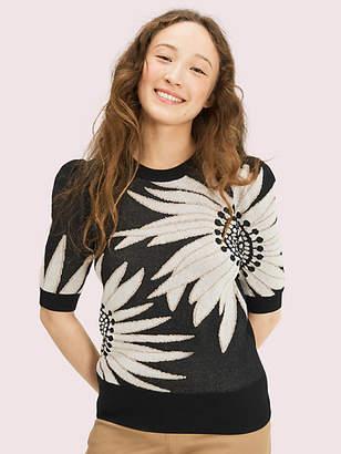 Kate Spade Falling Flower Sweater