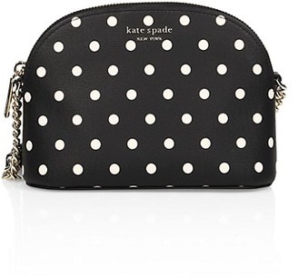 Kate Spade Small Spencer Cabana Dot Dome Crossbody Bag