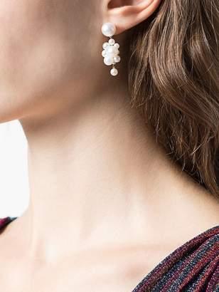 Sophie Bille Brahe botticelli pearl cluster earrings