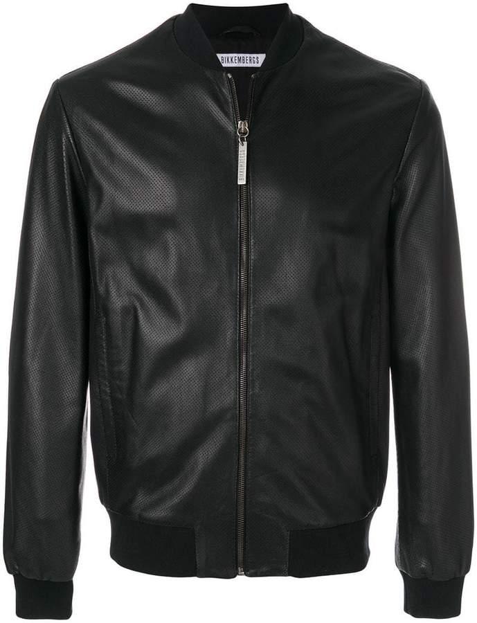 Dirk Bikkembergs zipped bomber jacket
