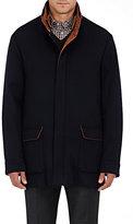 Barneys New York Men's Cashmere Field Jacket-NAVY
