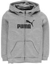 Puma Kids Boys No1 Full Zip Hoody Junior Hoodie Hooded Top Print