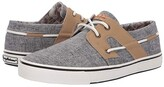 Tommy Bahama Stripe Breaker (Black Chambray) Men's Lace up casual Shoes