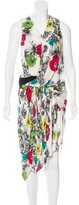 Doo.Ri Floral Print Silk Dress