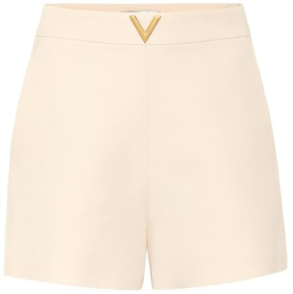 Valentino VGOLD wool and silk shorts
