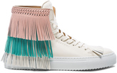 Buscemi 125MM Leather New Fringe Sneakers
