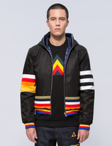 Iceberg Multi Stripe Reversible Down Jacket