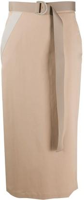 Lorena Antoniazzi Straight Fit Midi Skirt