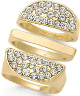 Thalia Sodi Gold-Tone 3-Pc. Set Pavé Rings, Created for Macy's
