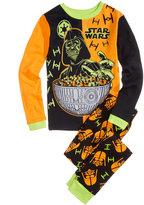 Star Wars 2-Pc. Glow-In-The-Dark Cotton Pajama Set, Little Boys (4-7) & Big Boys (8-20)