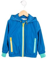 Stella McCartney Boys' Hooded Windbreaker Jacket