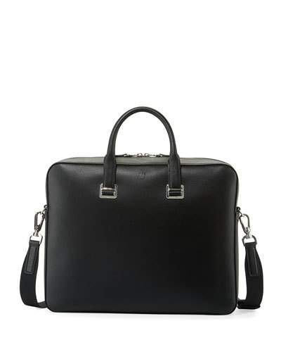 Dunhill Cadogan Leather Document Case, Black