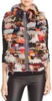 Maximilian Furs Saga Fox Fur Mixed Media Vest - 100% Exclusive