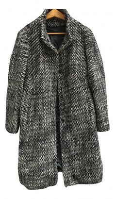 HUGO BOSS Black Wool Coats