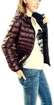 Coat, Leegor Women Winter Warm Candy Color Thin Slim Down Jacket Overcoat (S, )