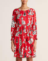 Moschino Red Chess Dress