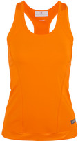 adidas by Stella McCartney The Performance Racer-back Stretch-jersey Tank - Orange