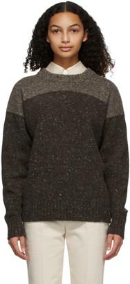 PARTOW Brown Melange King Sweater