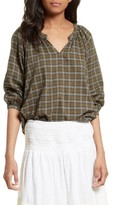 The Great Women's The Wildflower Plaid Top