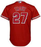Majestic Boys' Mike Trout Los Angeles Angels of Anaheim Replica Jersey