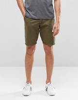 Blend of America Chino Shorts Straight Fit in Green