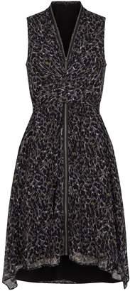 AllSaints Jayda Leopard Dress