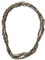 Iosselliani Twisted Chain Necklace