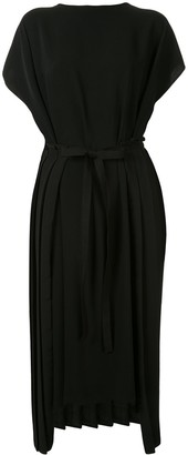 MM6 MAISON MARGIELA Asymmetric Tie Waist Dress