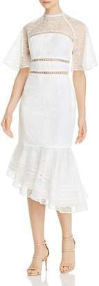 Keepsake Awaken Lace Midi Dress