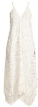Ramy Brook Women's Kasia Floral Lace Midi Coverup Dress