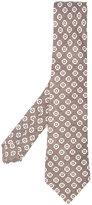 Kiton printed tie - men - Silk - One Size