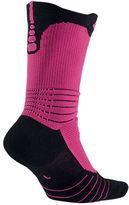 Nike Men's Elite Versatility Kay Yow Graphic Print Crew Socks