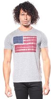 Lucky Brand Men's Tye Dye Flag Tee