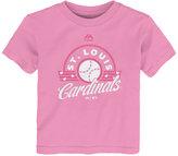 Majestic Toddler Girls' St. Louis Cardinals Baseball T-Shirt