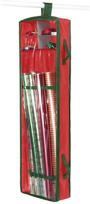 Whitmor Hanging Red Gift Wrap Organizer