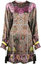 Etro paisley print mini dress - women - Cotton/Polyester/Acetate/Viscose - 40