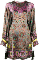 Etro paisley print mini dress - women - Cotton/Polyester/Acetate/Viscose - 42