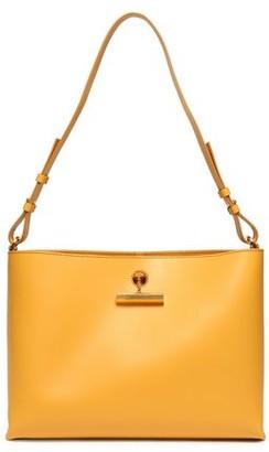 Sophie Hulme The Pinch Medium Matte-leather Shoulder Bag