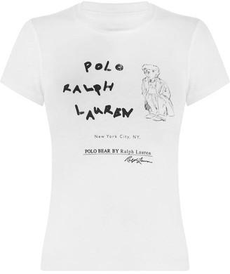 Polo Ralph Lauren Small Bear t Shirt