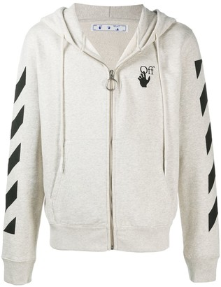 Off-White Agreement zip-up hoodie