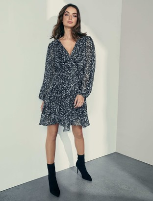 Ever New Mariana Wrap Hanky Hem Dress