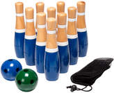 Trademark Hey Play 8 Inch Wooden Lawn Bowling Set