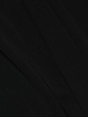 Halston Ulla Halter Jersey Gown