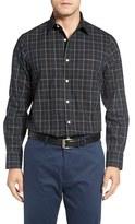 Nordstrom Smartcare Plaid Sport Shirt (Big)