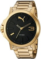 Puma Women's PU103462002 Analog Display Quartz Gold Watch