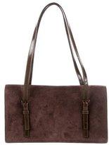 Prada Camoscio & Spazzolato Shoulder Bag