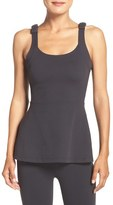Beyond Yoga Women's Kate Spade New York & Peplum Tank