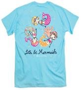 itsa girl thing Let's-Be-Mermaids Youth Shirt