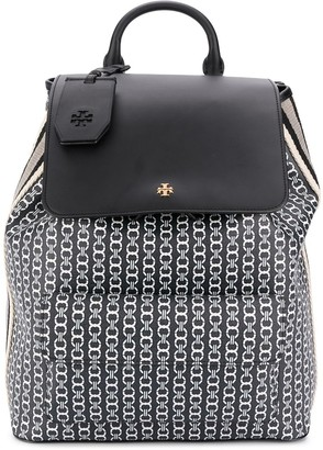 Tory Burch Gemini Link coated backpack